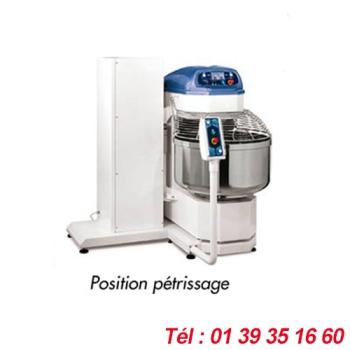 PETRIN SPIRALE BASCULANT CAPACITE PATE 130 KGS