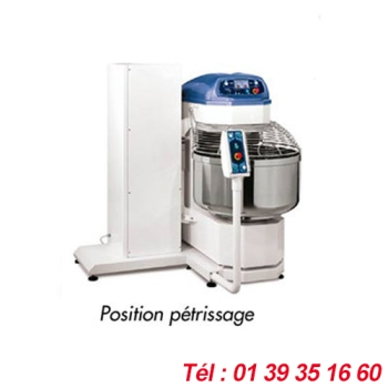 PETRIN SPIRALE BASCULANT CAPACITE PATE 200 KGS