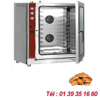 FOUR PATISSIER ELECTRO-MECANIQUE 10 NIVEAUX 400X600