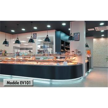 "VITRINE MODELE EV101 - Tel  01 39 35 16 60"""