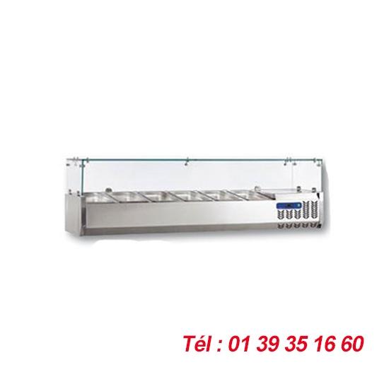 STRUCTURE +2/+10°C LONG 1200 MM GN1/4