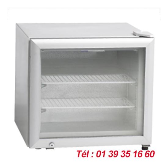 VITRINE DE TABLE -12/-24°C 50 LITRES