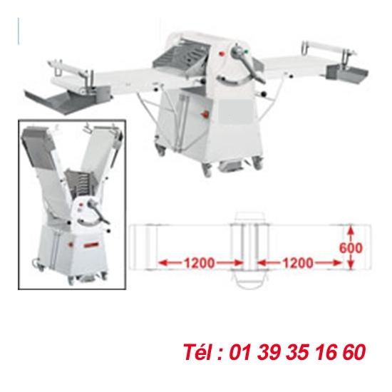 LAMINOIR A BANDE SUR SOCLE - 600X1200