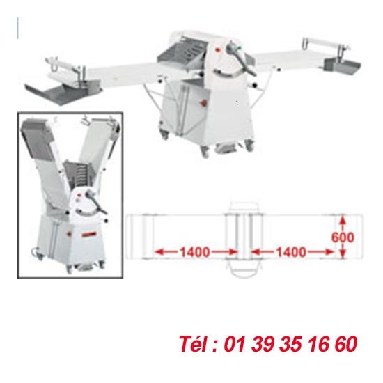LAMINOIR A BANDE SUR SOCLE - 600X1400