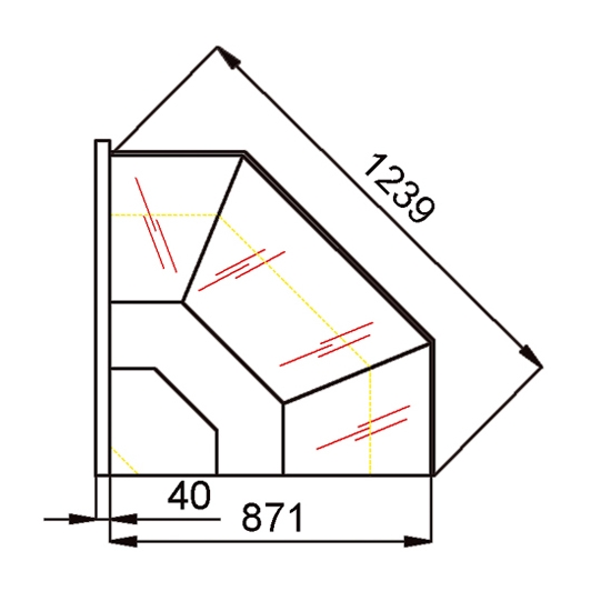 ANGLES EXTERIEURS REFRIGERES  ANGE01F