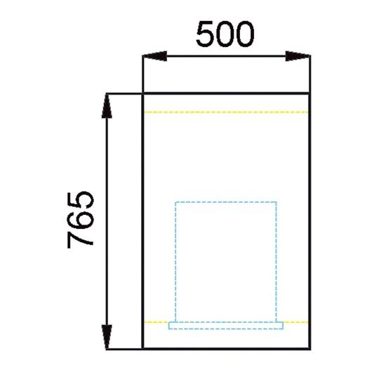 CAISSE 765X500  REF ESC050