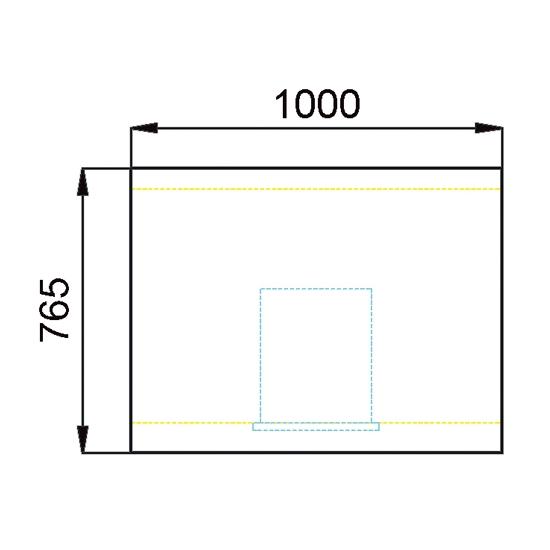 CAISSE 1000X765  REF ESC100