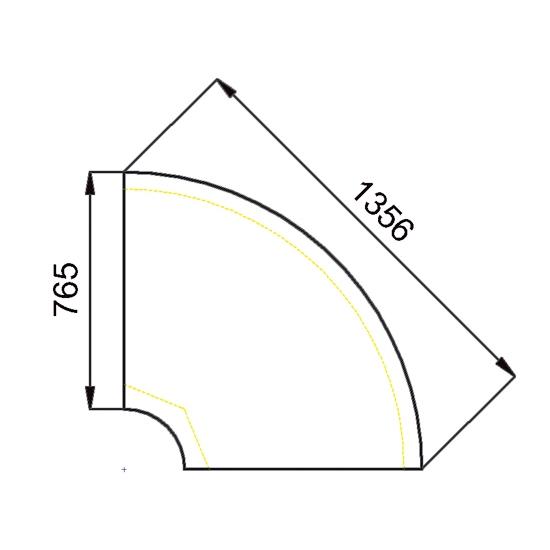 CAISSE 1646X765  REF ESCI90